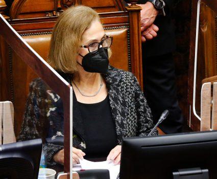 Adriana Muñoz, presidenta del Senado