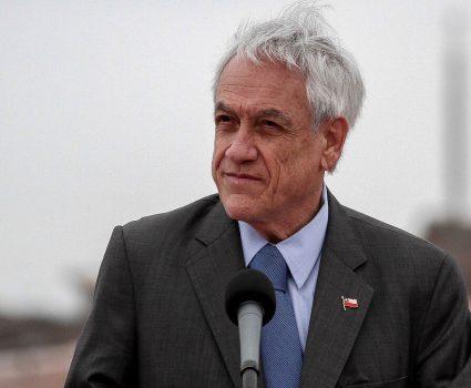Presidente Sebastián Piñera y paro de camioneros