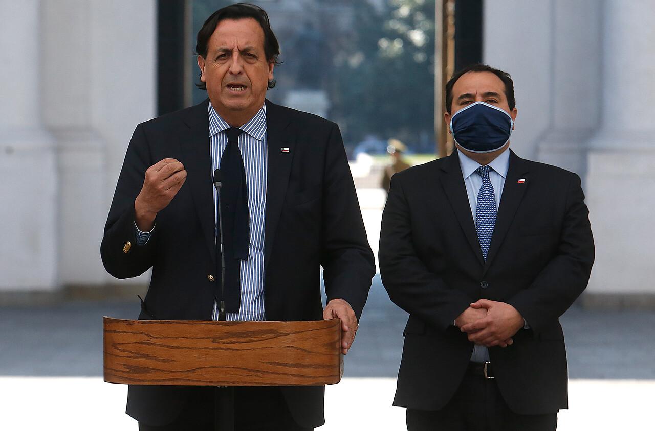 Ministro del Interior, Víctor Pérez y la postura del gobierno frente al paro de camioneros