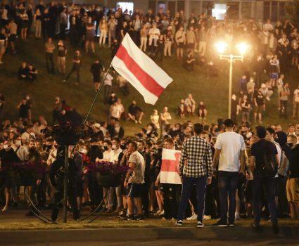 Bielorrusa protestas