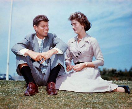 John Kennedy y Jacqueline Bouvier