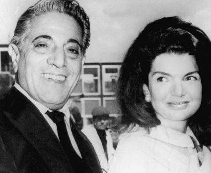 Onassis y Jackie