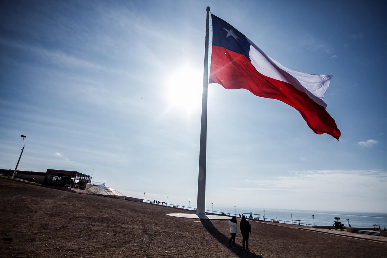 Bandera chilena, fiestas patrias
