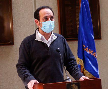 Diputado Daniel Núñez y presupuesto