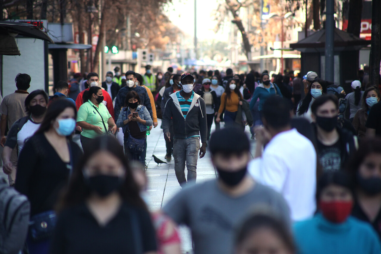 Chilenos pandemia