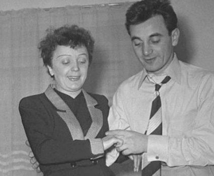 Charles Aznavour y Edith Piaf