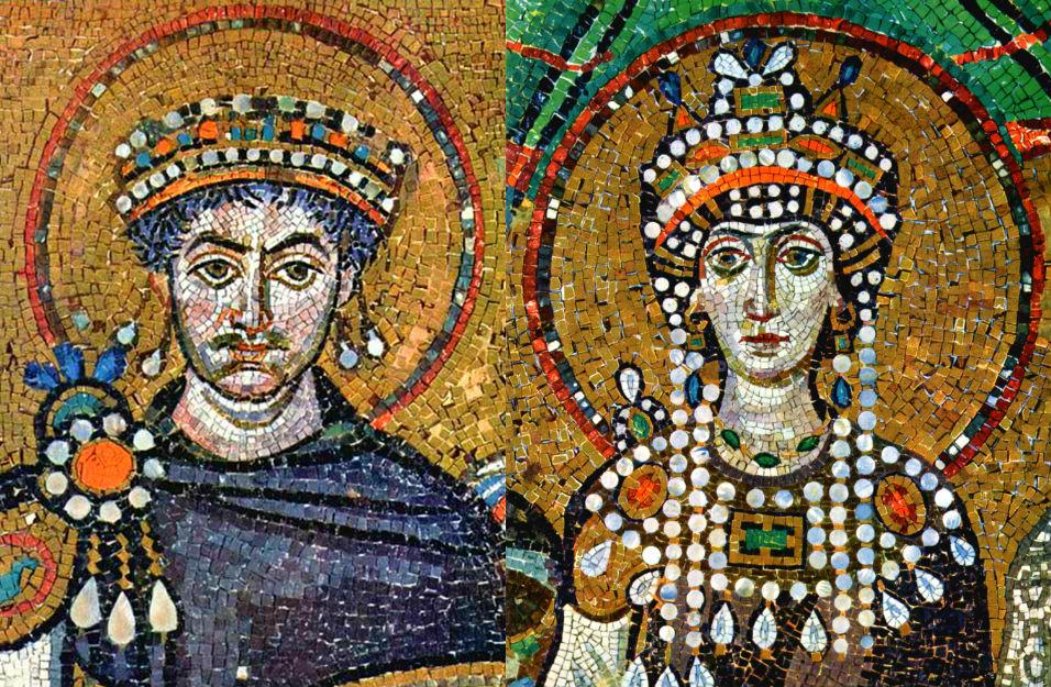 Justiniano y Teodora: El emperador y la pecaminosa - Duna 89.7 | Duna 89.7