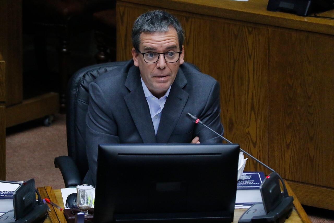 Felipe Harboe, senador PPD, y reforma a Carabineros