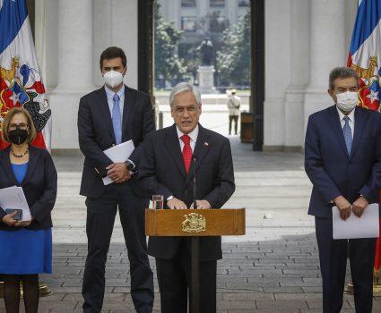 Presidente Sebastián Piñera y actuar de carabineros