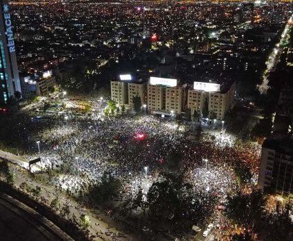 manifestaciones plebiscito