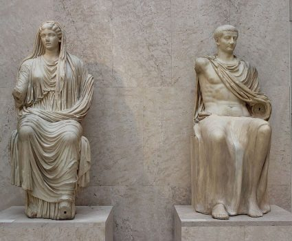 Augusto y Livia