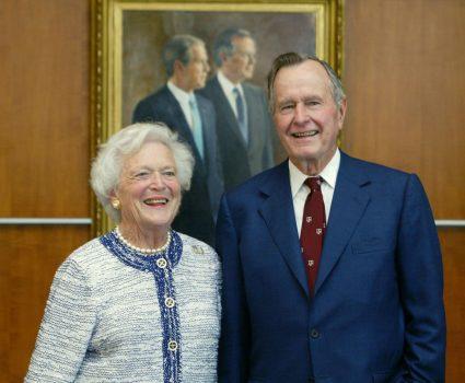 Barbara y George Bush