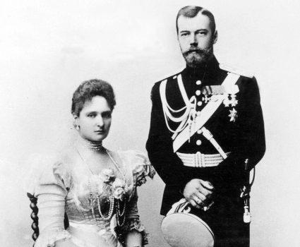 Nicolas II y Alexandra