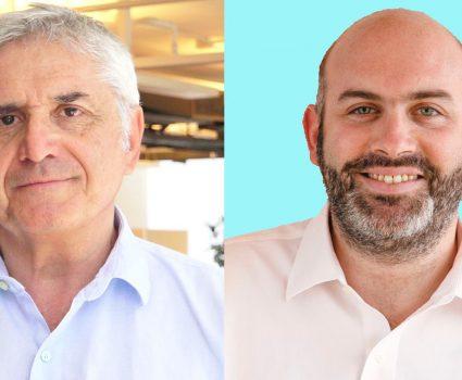 Roberto Izikson y Eugenio Tironi