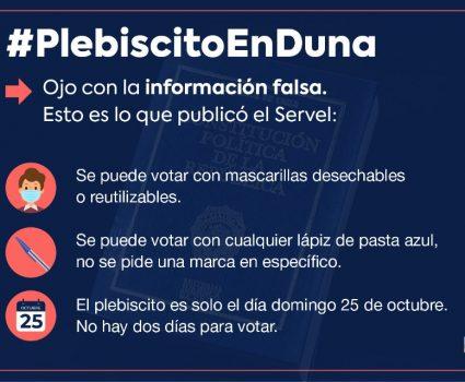 Fake News plebisicto
