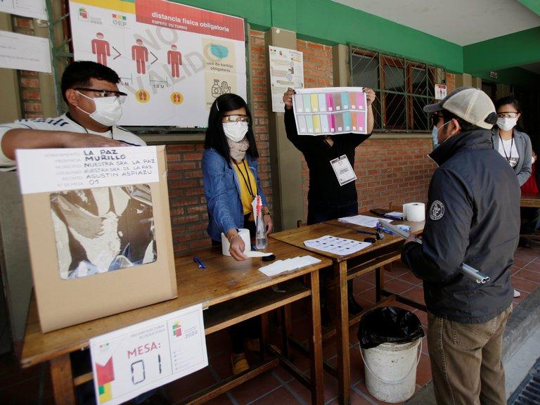 elección en bolivia