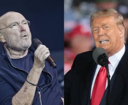 phil collins y trump