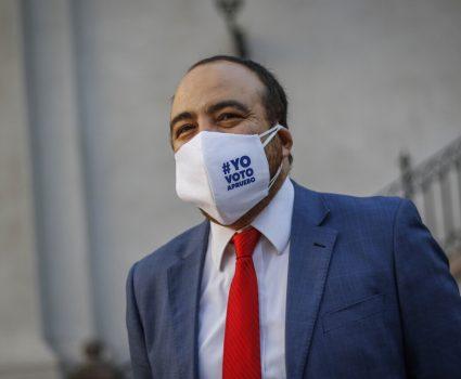 Fuad Chahín, presidente de la DC