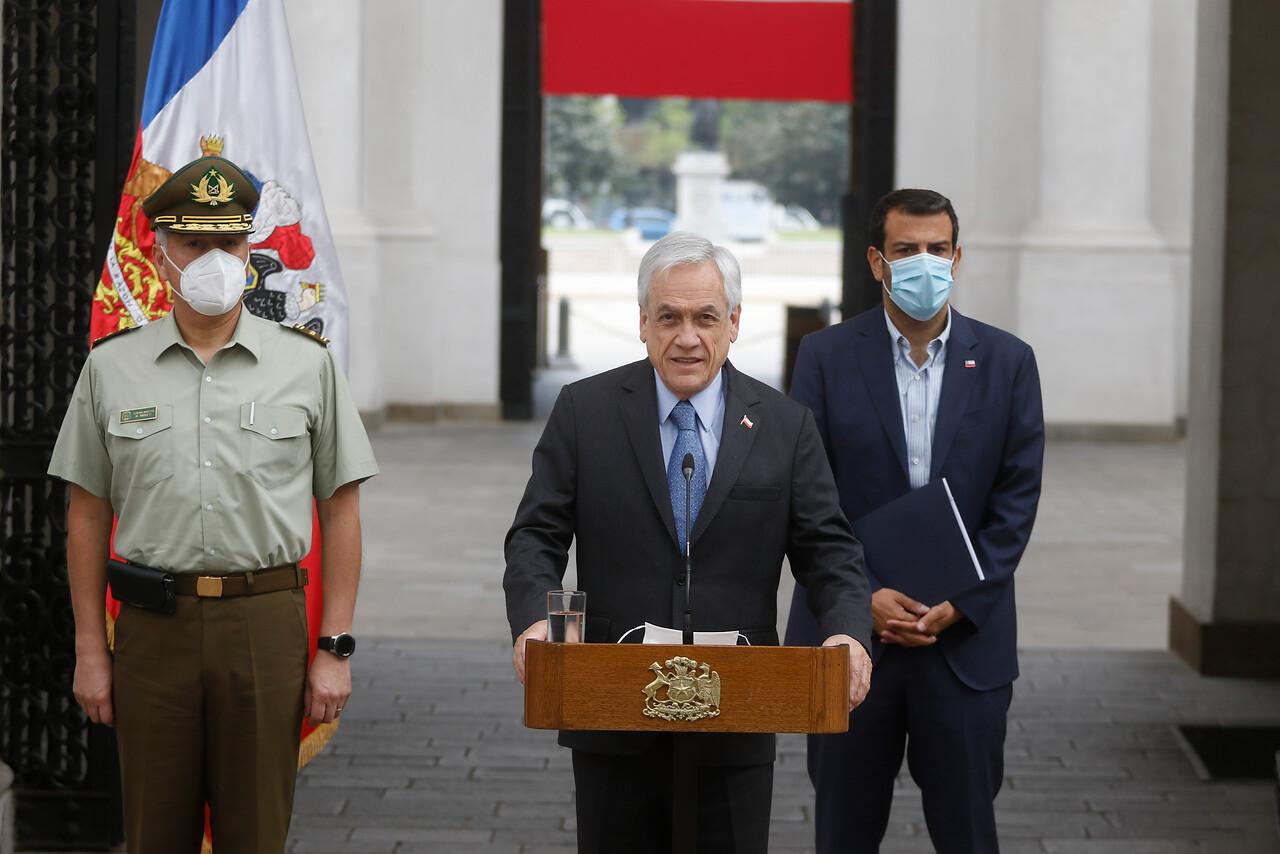Presidente Sebastián Piñera y salida de Mario Rozas