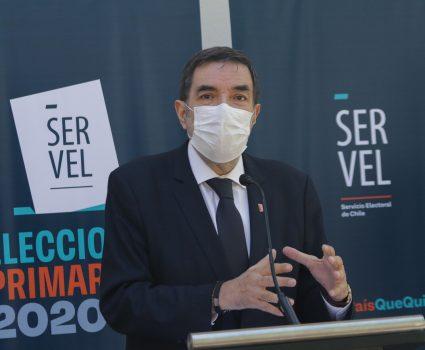 Patricio Santamaría del Servel explica elecciones primarias