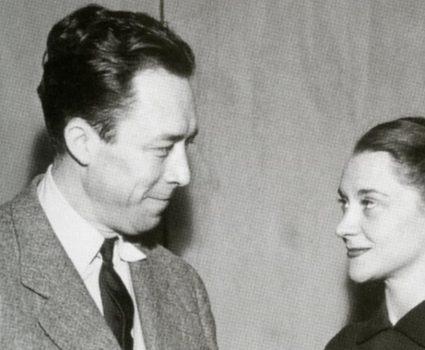 Albert Camus y María Casares