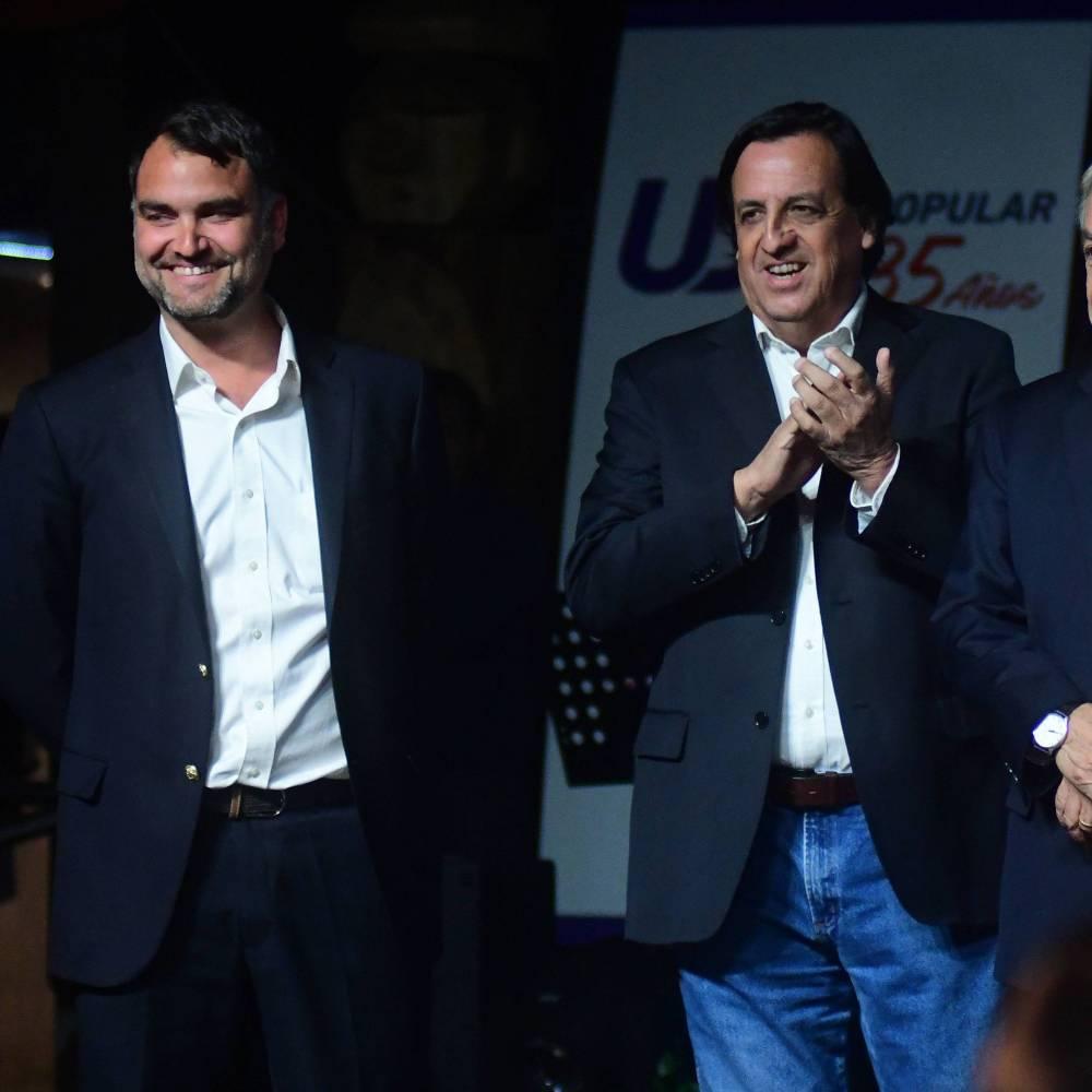 Víctor Pérez y Javier Macaya