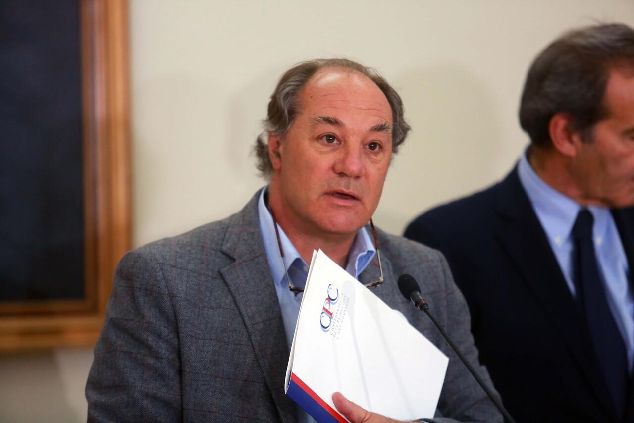 Juan Sutil, presidente de la CPC