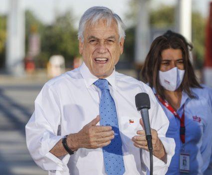 Presidente Sebastián Piñera y estado de catástrofe