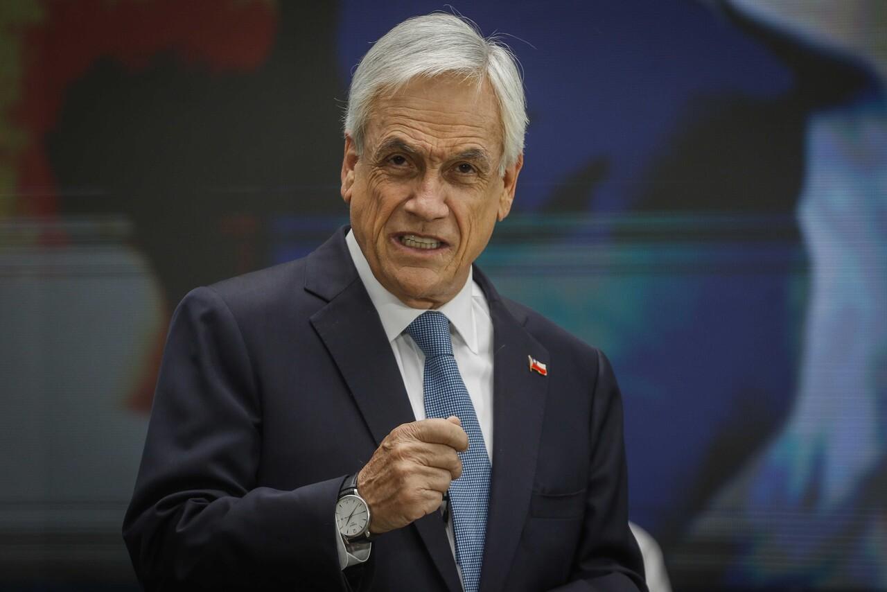 Presidente Piñera vacunación