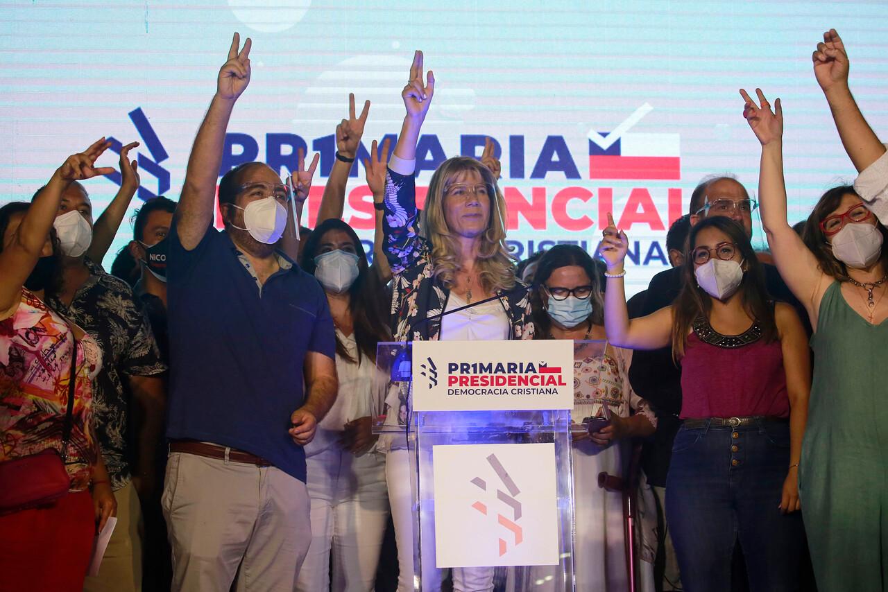 Ximena Rincón precandidata presidencial de la DC