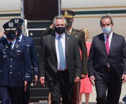Visita del presidente de Argentina a Chile