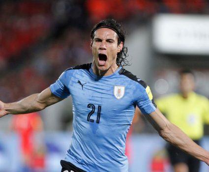 Edinson Cavani Selección de Uruguay