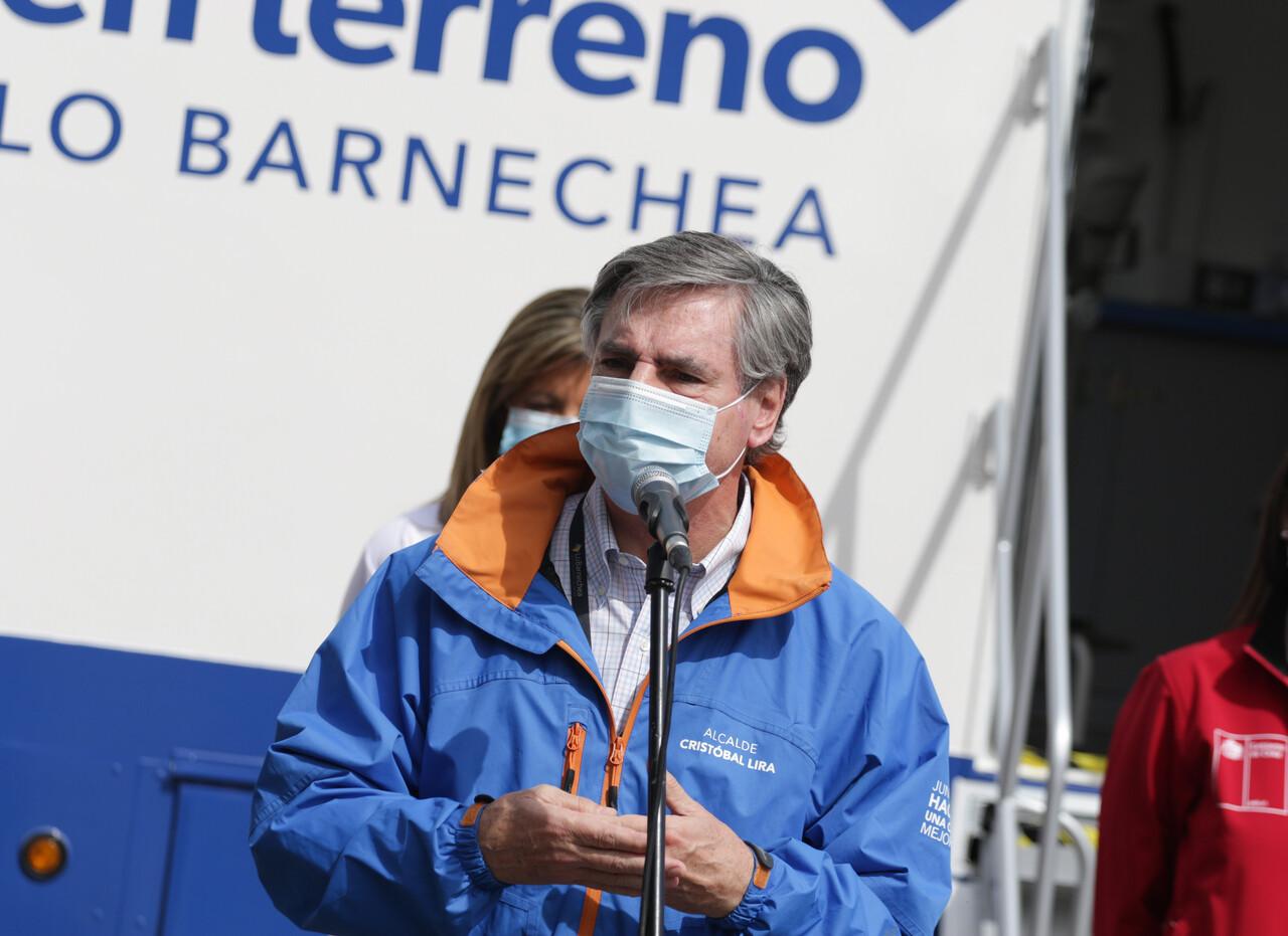 Alcalde de Lo Barnechea, Cristóbal Lira