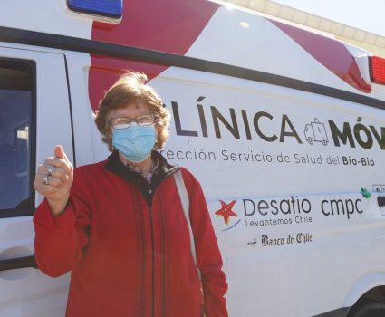 Clínica Móvil desafío Levantemos Chile