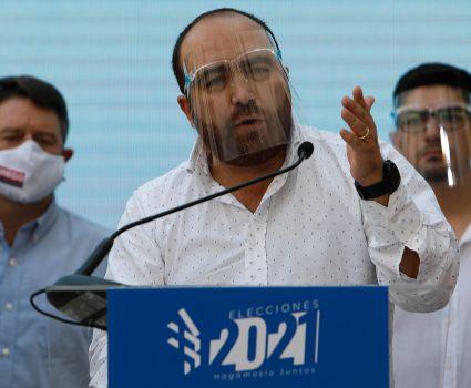 Fuad Chahín , presidente de la DC