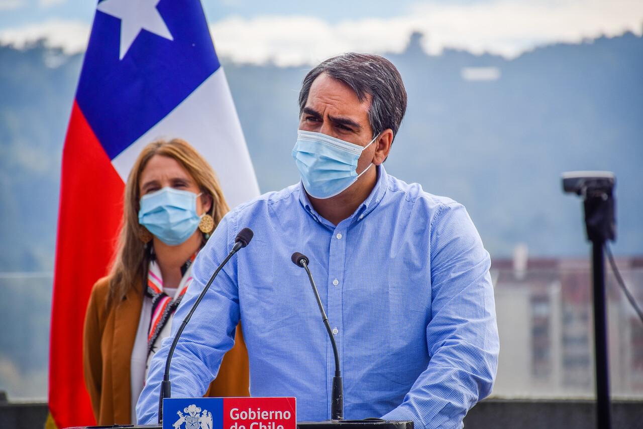 Pablo Urquízar, coordinador de la Macrozona Sur