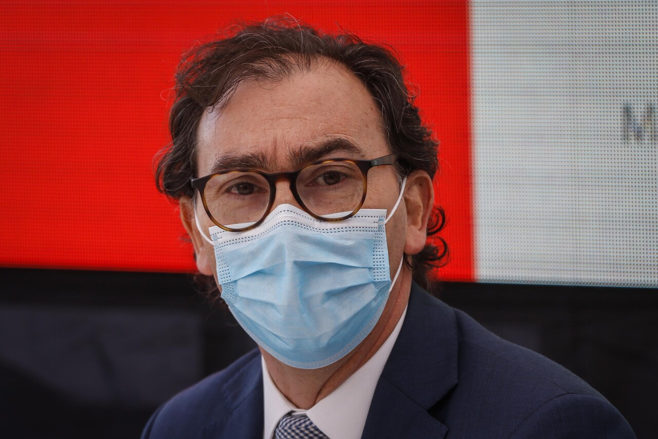 Ministro de Educación, Raúl Figueroa