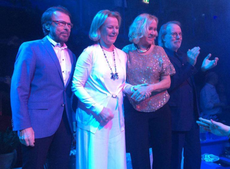 ABBA en su reunión en 2016
