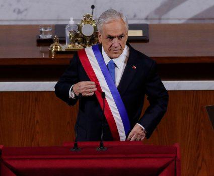 Sebastián Piñera, Cuenta Pública