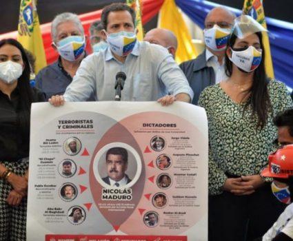 acuerdo de salvación nacional Venezuela
