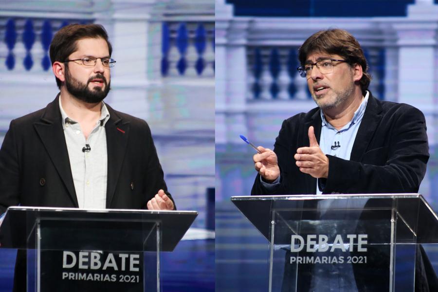 El debate de Jadue y Boric, el Estado Excepción y el funcionamiento de la convención - Duna 89.7 | Duna 89.7