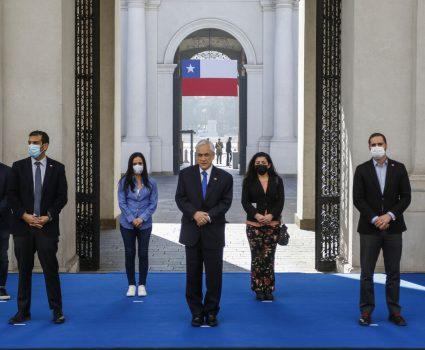 Piñera proyecto de ley antiamenzas