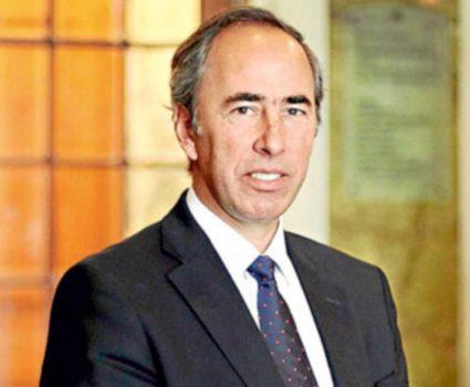 Ricardo Mewes, presidente de la Cámara Nacional de Comercio