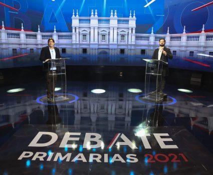 Debate Boric vs Jadue