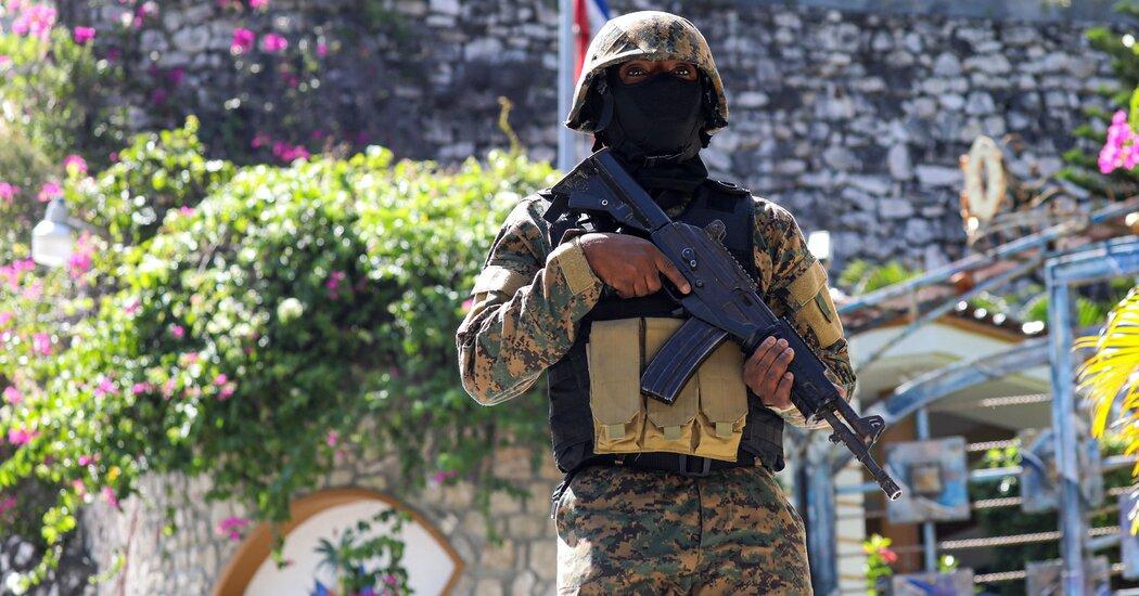 haití estado de sitio