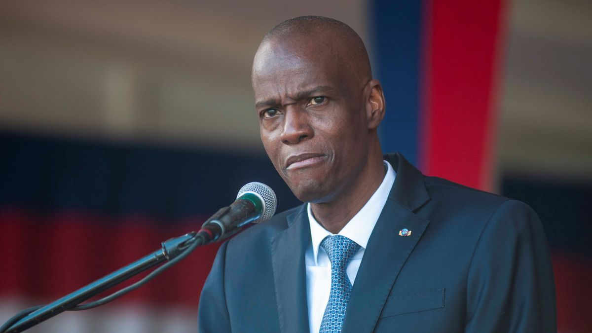 jovenel moises, presidente de Haití