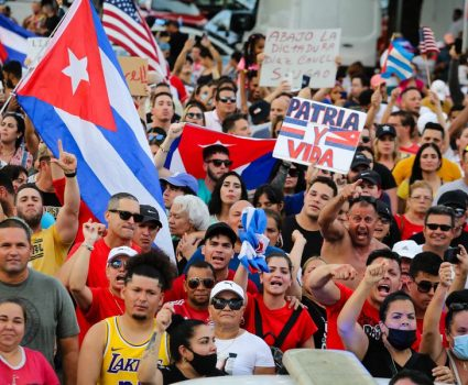 manifestaciones cuba