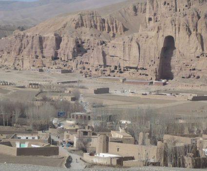 aAfganistán, valle de Bamiyán