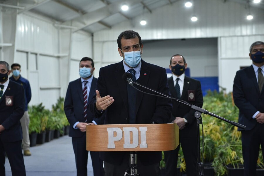 Ministro del Interior, Rodrigo Delgado