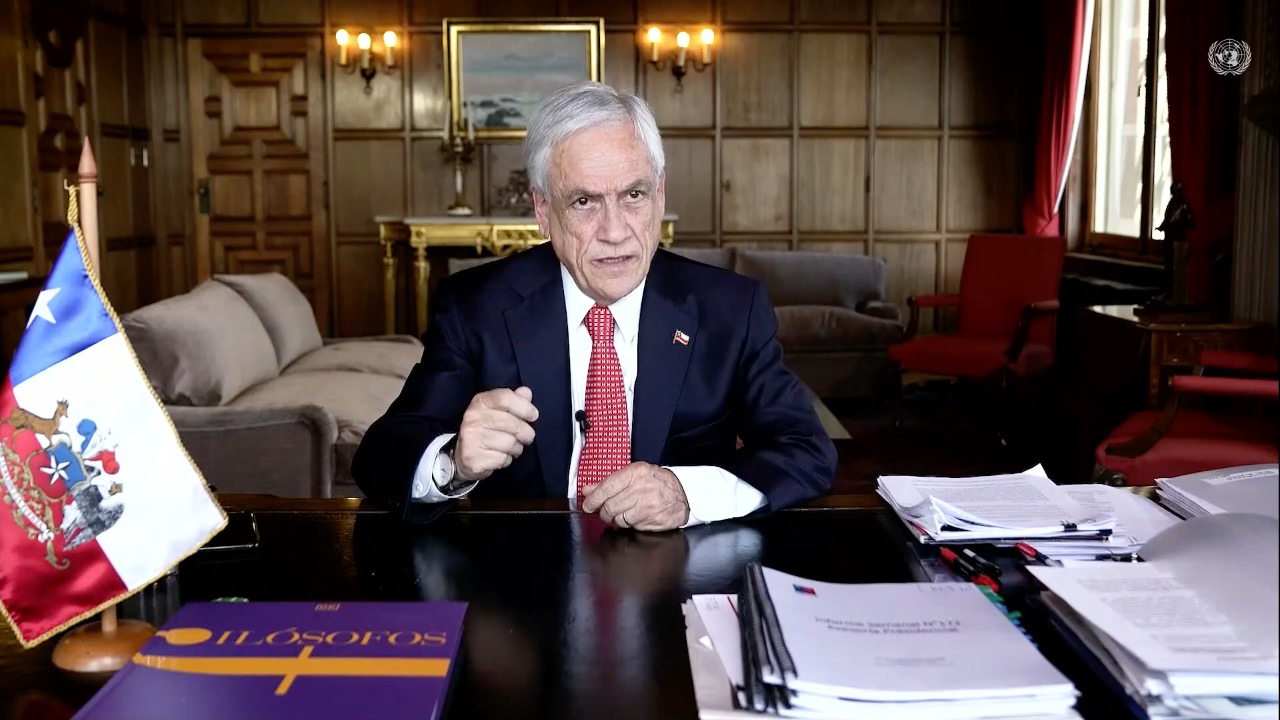 Presidente Piñera Asamblea General de la ONU